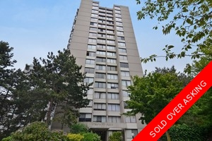 Vancouver West End Condo for sale: 1 bedroom 621 sq.ft.